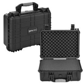 [pro.tec]® Valiza universala protectie AAWK-5501, 40,6 x 33 x 17,4 cm, plastic, negru