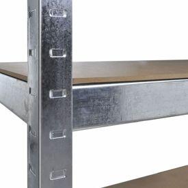 Raft pentru Garaj Argintiu