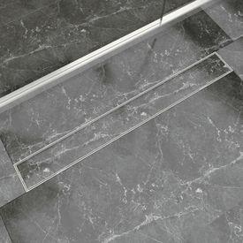 Rigolă liniară pentru duș din oțel inoxidabil 930 x 140 mm