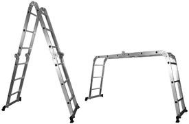 Scara Multifunctionala din Aluminiu 12+2 trepte