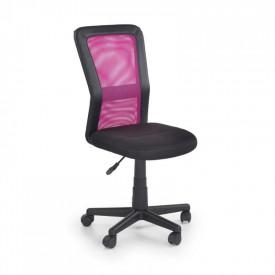 Scaun birou copii mesh HM Cosmo negru - roz