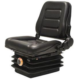 Scaun cu suspensie, spătar reglabil pentru tractor și stivuitor