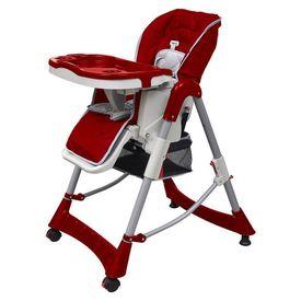 Scaun de masă pentru bebeluși Roșu Bordeaux