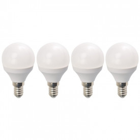 Set 4 Becuri LED Drimus 6W E14 Lumina Calda DL 3064