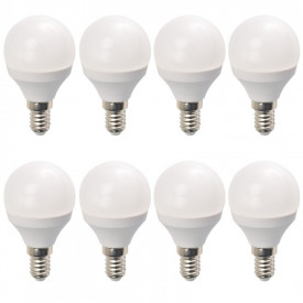 Set 8 Becuri LED Drimus 6W E14 Lumina Rece DL 6064