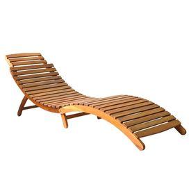 Șezlonguri de plajă, 2 buc., lemn masiv de acacia