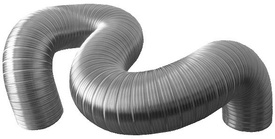 Tub Flexibil din Aluminiu 100mm - 650913