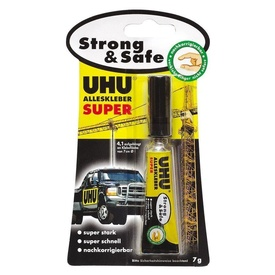 UHU Ad univ Super Strong &Safe 7g bl c.46960