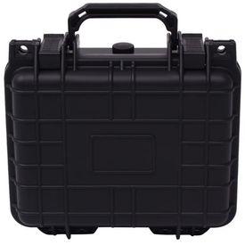 Valiză de protecție echipamente, 27 x 24,6 x 12,4 cm, negru