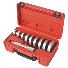 vidaXL Set unelte asamblare inele rulmenți și etanșare roți, 10 buc.