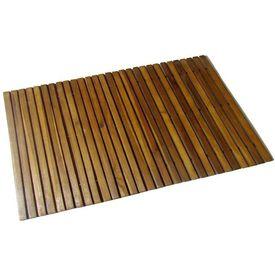 Covoraș din acacia pentru baie, 80 x 50 cm