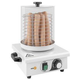 Aparat de încălzit hot dog, oțel inoxidabil, 450 W
