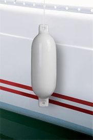 Balon de acostare 66203, PVC vapor/barca/yacht, 58 x 17 cm, alb