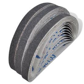 Benzi șlefuire 10 x grit 60/grit 80/grit 120, 10 mm x 330 mm (30 buc.)