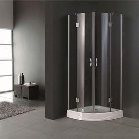 Cabină de duș sticlă 80 x 80 cm