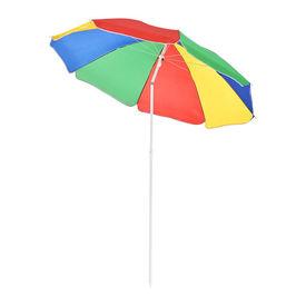 [casa.pro]®.Umbrela plaja 180 cm x 194 cm multicolora