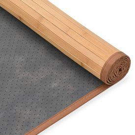 Covor din bambus, maro, 195 x 300 cm