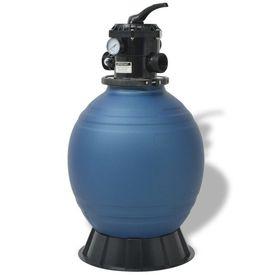 Filtru cu nisip pentru piscine 45,72 cm/460 mm rotund, albastru