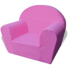 Fotoliu pentru copii, roz
