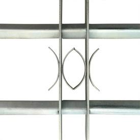 Grilaj de siguranță pentru ferestre cu 2 bare transversale 700-1050 mm