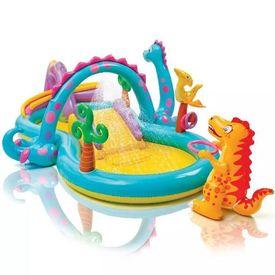 Intex Piscină gonflabilă Dinoland Play Center 333x229x112cm 57135NP
