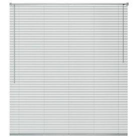 Jaluzele din aluminiu, 140 x 130 cm, argintiu