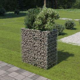 Jardinieră gabion, 90x50x100 cm, oțel galvanizat