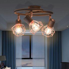Lustră cu 3 becuri cu LED filament 12 W