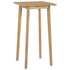 Masă de bar, lemn masiv de acacia, 60x60x105 cm
