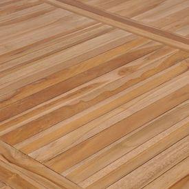 Masă de exterior, 200 x 100 x 77 cm, lemn masiv de tec