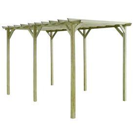 Pergolă de grădină, 4 x 2 x 2 m, lemn de pin tratat