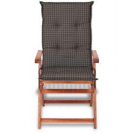 Perne pentru scaune de grădină 117 x 49 cm, gri, 6 buc.