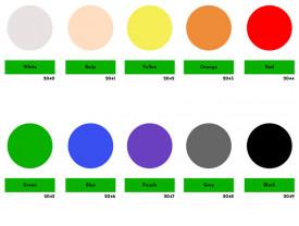 Pigment pentru rasina epoxidica, monocrom
