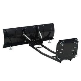 Plug de zăpadă pentru ATV, 120x38 cm, Negru