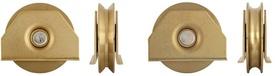 Roata cu Suport Placa cu Rulment - 100R - 674203