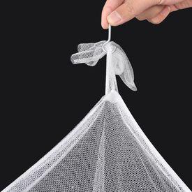 Set 2 plase țânțari pătrate cu 3 deschideri