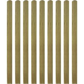 Șipci de gard din lemn tratat, 30 buc., 140 cm, lemn FSC