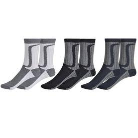 Șosete bicolore pentru bărbați, 24 perechi, 43-46