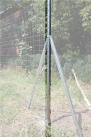 Stalp pt Plasa Gard din Otel Zincat - 30x40x30-2 - 649247