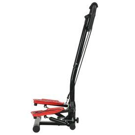Stepper cu balansare cu stâlp central și corzi de rezistență
