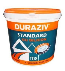 Tencuiala decorativa structurata cu silicon DURAZIV STANDARD TDS - 25 kg