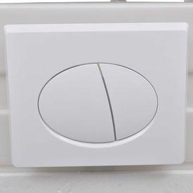 Toaletă suspendată, rezervor, colac silențios, ceramică, alb WC