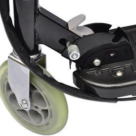 Trotinetă electrică cu scaun, 120 W, negru