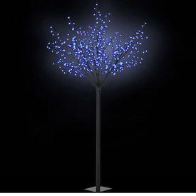 vidaXL Pom Crăciun LED-uri, interior exterior IP 44 250 cm Albastru
