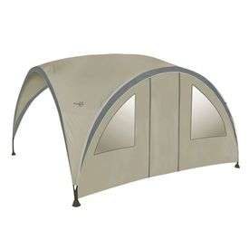Bo-Garden Perete lateral cu ușă pentru cort petrecere bej mare 4472220