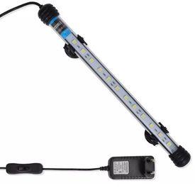 Lumină LED pentru acvariu 28 cm Alb