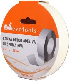 Banda Dublu Adeziva cu Spuma EVA / B[mm]: 19; L[m]: 5 - 100 buc