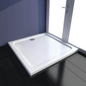 Cădiță duș pătrată ABS 90 x 90 cm