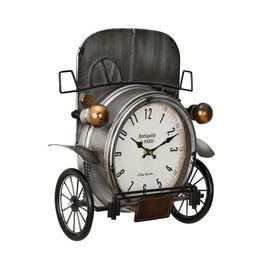 Ceas design de perete - Model 25 Masina de epoca, metal/sticla/MDF, 33 x 13 x 36 cm, multicolor
