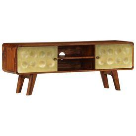Comodă TV, 120 x 30 x 45 cm, lemn masiv de palisandru